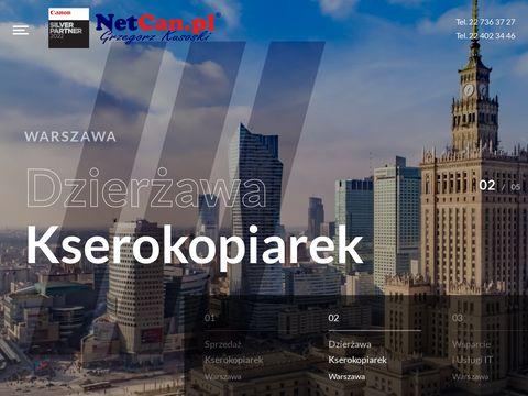 Kserokopiarki Warszawa Netcan.pl