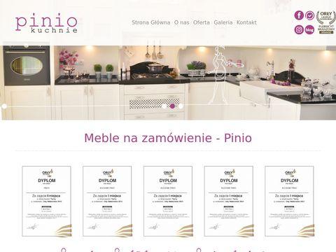 Pinio projekty kuchni Tychy