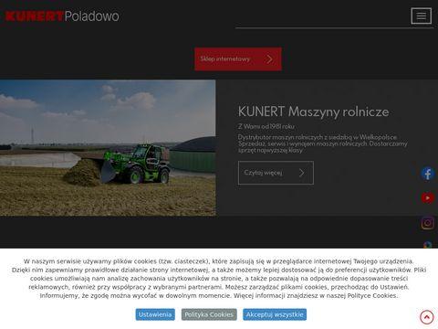Kunert.com.pl ciągniki rolnicze