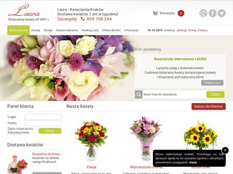 Kwiaciarnia Laura - Kraków