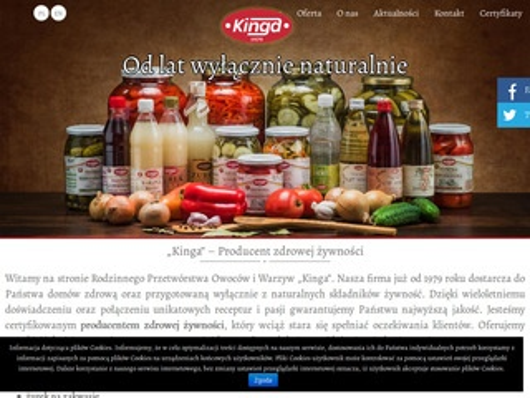 Kingaprzetwory.pl przetwórstwo
