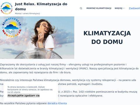Klimatyzacja-justrelax.pl dla domu