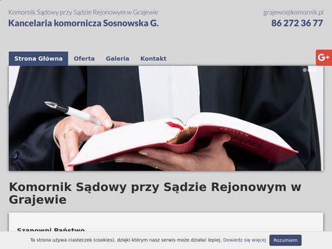 Komornik-grajewo.pl