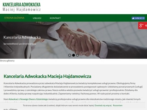 Hajdamowicz Maciej prawnik
