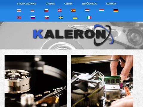 Serwis komputerowy i RTV Kaleron