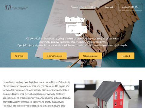 Ewa Jagielska domy Trójmiasto