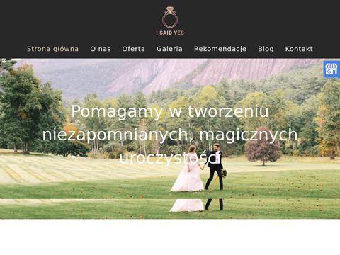 Isaidyes.pl doradztwo ślubne