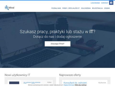 Itfind.pl - oferty pracy