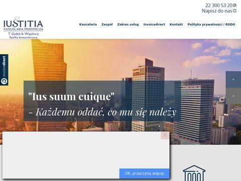 Kancelaria prawnicza Iustitia