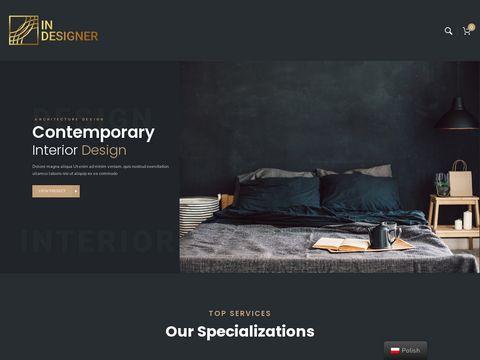 In-Designer projekt wnętrza