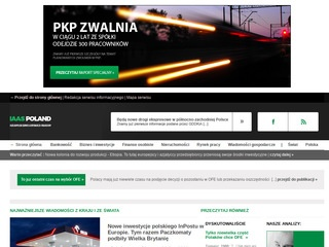 Iaaspoland.pl portal finansowy online