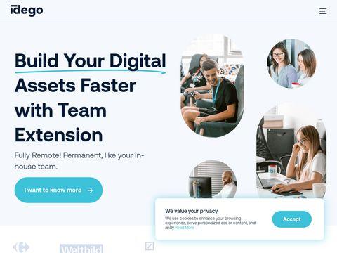 Idego-group.com - programowanie