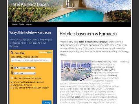 Hotele w Karpaczu z basenami