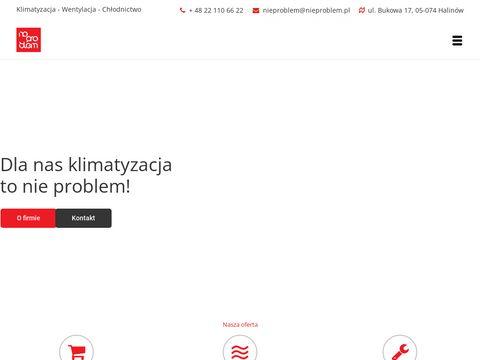 Serwis klimatyzacji - nieproblem.pl