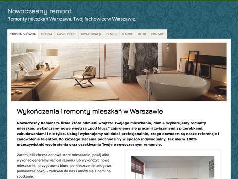 Nowoczesnyremont.pl Warszawa