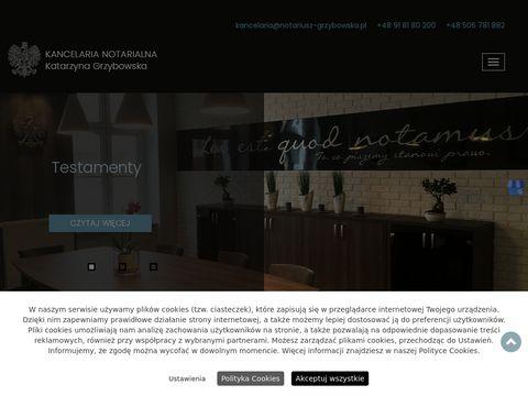 Katarzyna Grzybowska notariusz