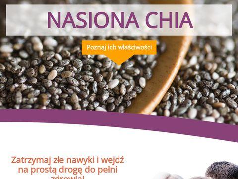 Nasiona chia zastosowanie