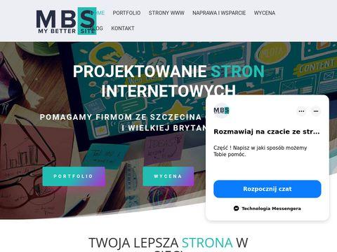 Projektowanie stron www Szczecin