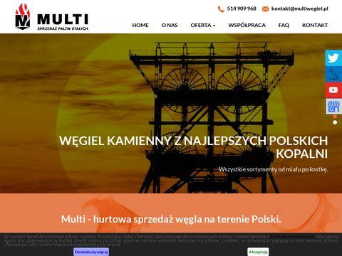Multi węgiel z Czech