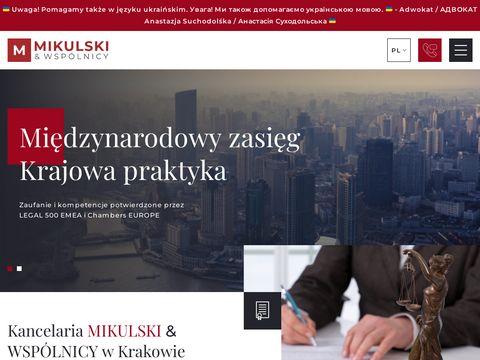 Mikulski.krakow.pl adwokat w Niemczech
