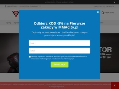 Mmacity.pl - sklep sporty walki