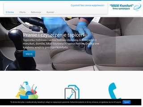 M&M Komfort - firma sprzątająca