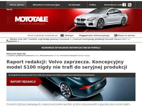 Mototaile.pl nowości ze świata