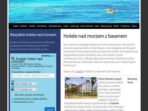 Hotele nad morzem z basenem