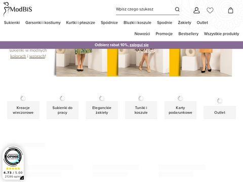 Modbis.pl - sukienki do pracy