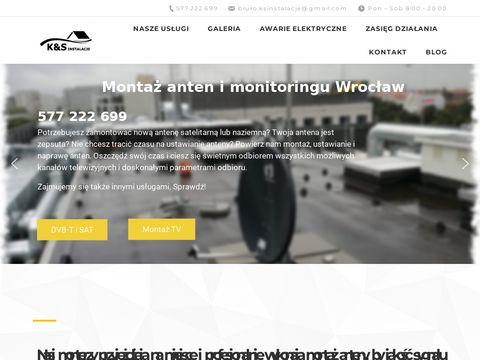 Montazantenywroclaw.pl ustawianie