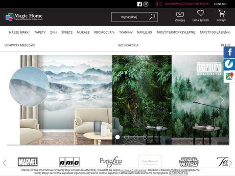 Magichome.com.pl tapeta