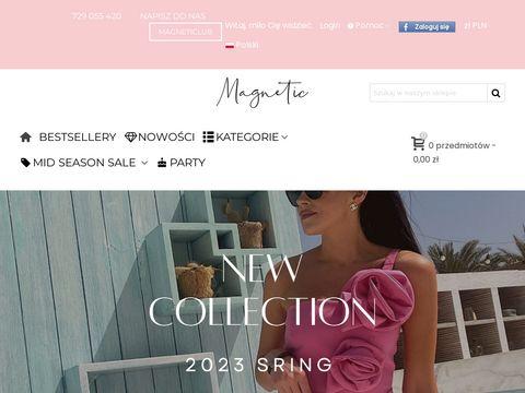 Magneticsklep.pl biała bluzka