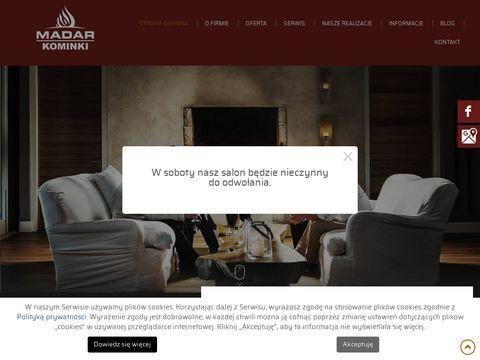 Madarkominki.pl aranżacje kominków