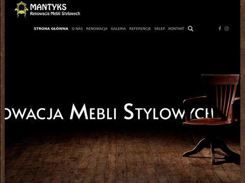 Renowacja mebli stylowych Warszawa