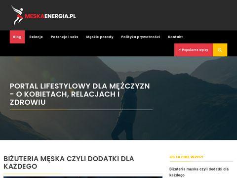 MeskaEnergia.pl - męski poradnik