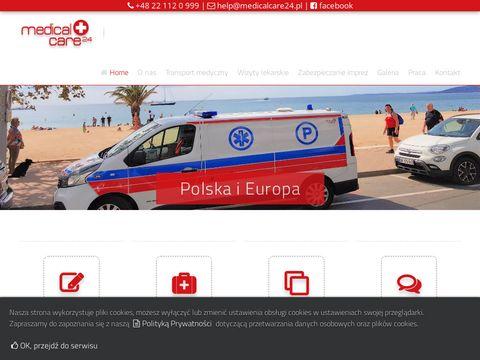 Transport medyczny medicalcare24.pl