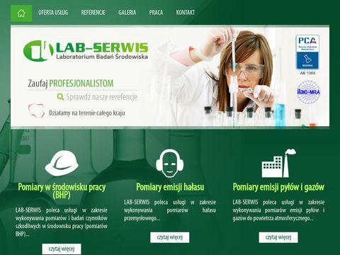 Pomiary emisji - Lab-Serwis