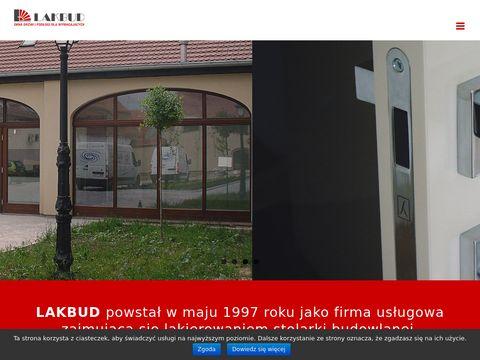 Lakbud drzwi zewnętrzne Wrocław