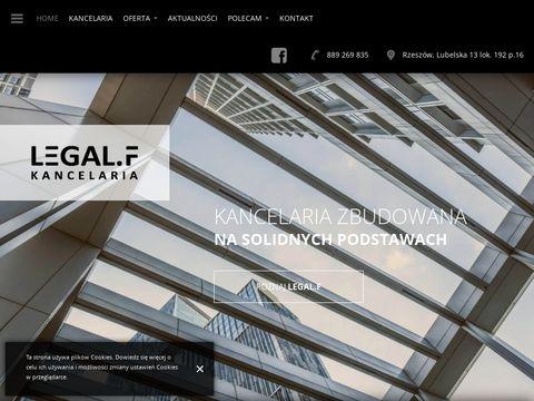 Legalfkancelaria.pl radca prawny