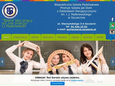 Promyk szkoła jak dom Szczecin