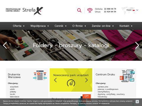 Strefaxero.pl drukarnia