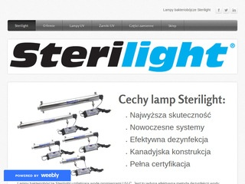 Sterilight - lampy uv i żarniki uv