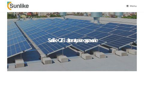 Sunlike.eu fotowoltaika, panele słoneczne