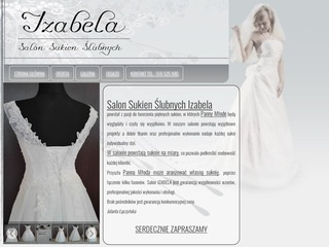 Izabela suknie ślubne Otwock