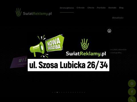 Świat Reklamy poligrafia Toruń