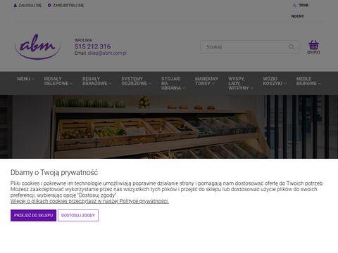 Wyposazenie sklepów odzieżowych