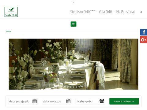 Siedlisko Orlik hotele Barlinek