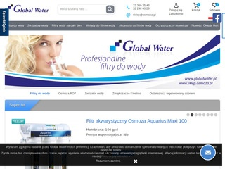 Filtry do wody od Global Water