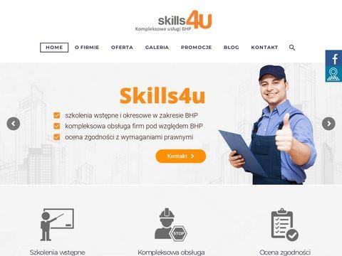 Skills4u.pl audyt bhp i ppoż