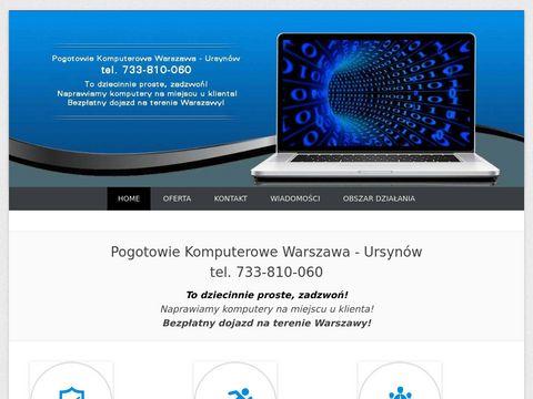 Serwis komputerowy Warszawa
